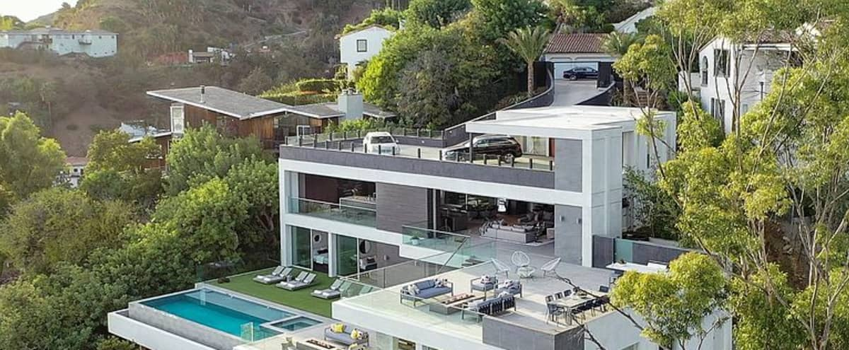 Masterpiece Mansion In The Hollywood Hills in Los Angeles Hero Image in Central LA, Los Angeles, CA