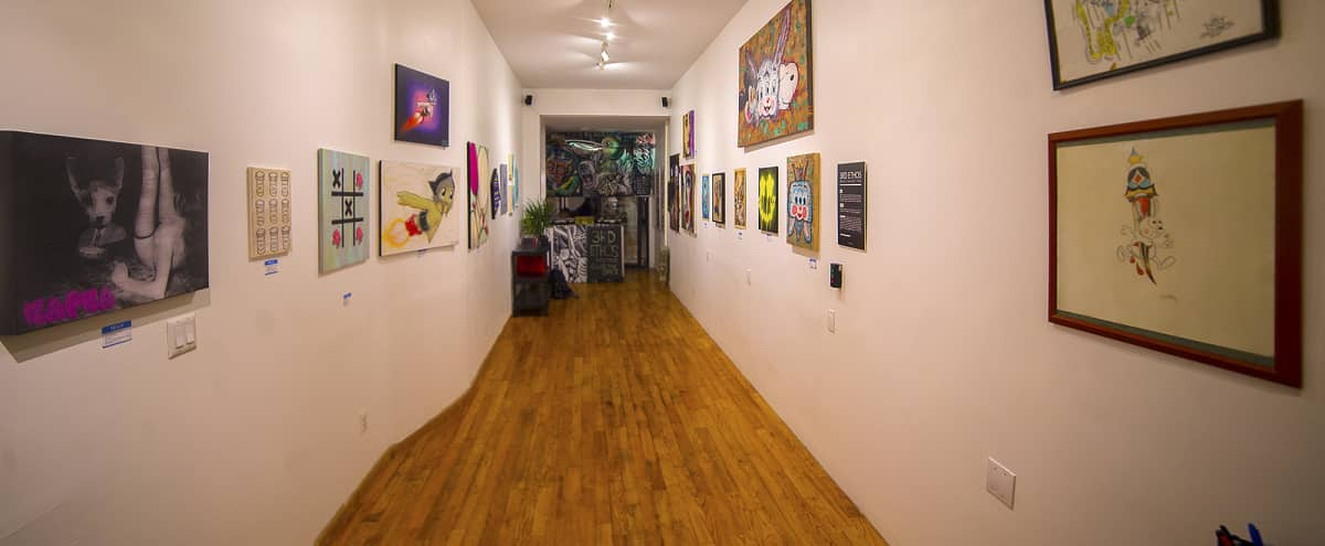 Multimedia Gallery Space in brooklyn Hero Image in Bushwick, brooklyn, NY