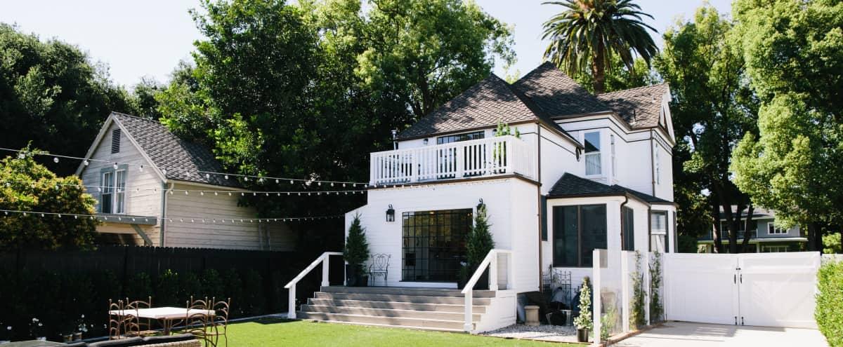 Glamorous Folk Victorian Farmhouse with Barn & Gorgeous Exteriors in Pasadena Hero Image in Pasadena, Pasadena, CA