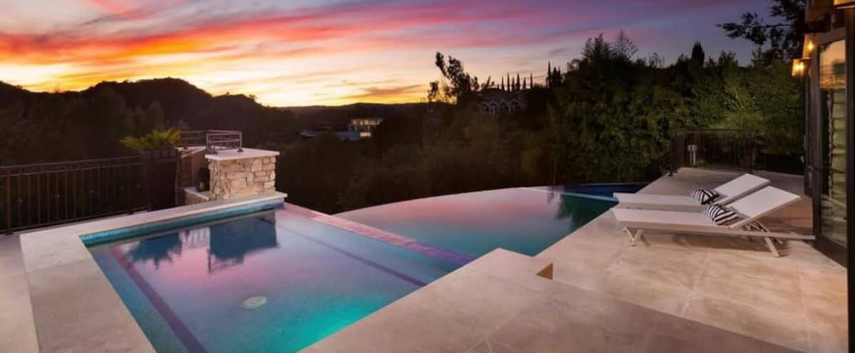 Luxurious Beverly Hills Mansion with Spectacular Views in Beverly Hills Hero Image in undefined, Beverly Hills, CA