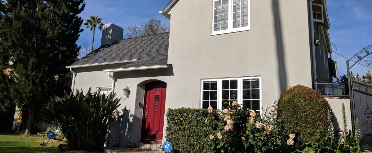 Creative space within Historic Country Club Park, 2 story English Revival 1923, huge lot, no parking permits needed. in Los Angeles Hero Image in Mid City, Los Angeles, CA