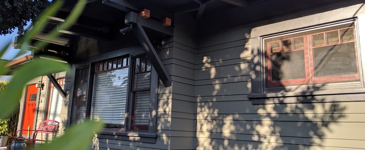 Well kept Craftsman Cottage in Hollywood, Backyard, Front yard, Garden in la Hero Image in Little Armenia, la, CA