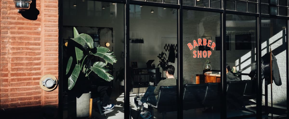 The Backroom or Barbershop at Blind Barber in Chicago Hero Image in Near West Side, Chicago, IL
