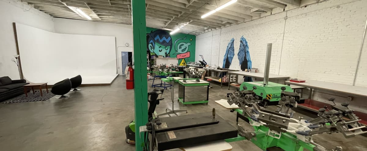 Downtown LA Screen Print and Photography Studio in Los Angeles Hero Image in Downtown Los Angeles, Los Angeles, CA