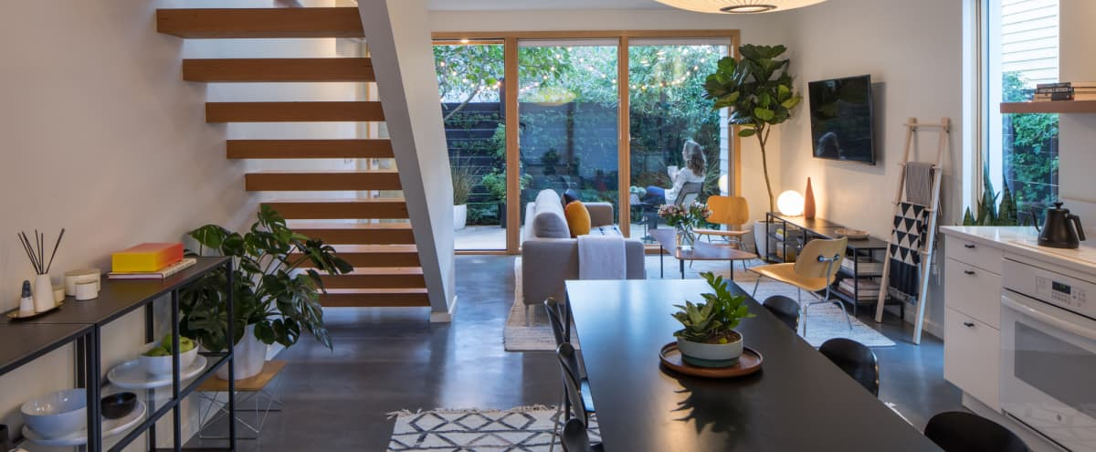 New Modern House in Portland's Central Eastside in Portland Hero Image in Kerns, Portland, OR