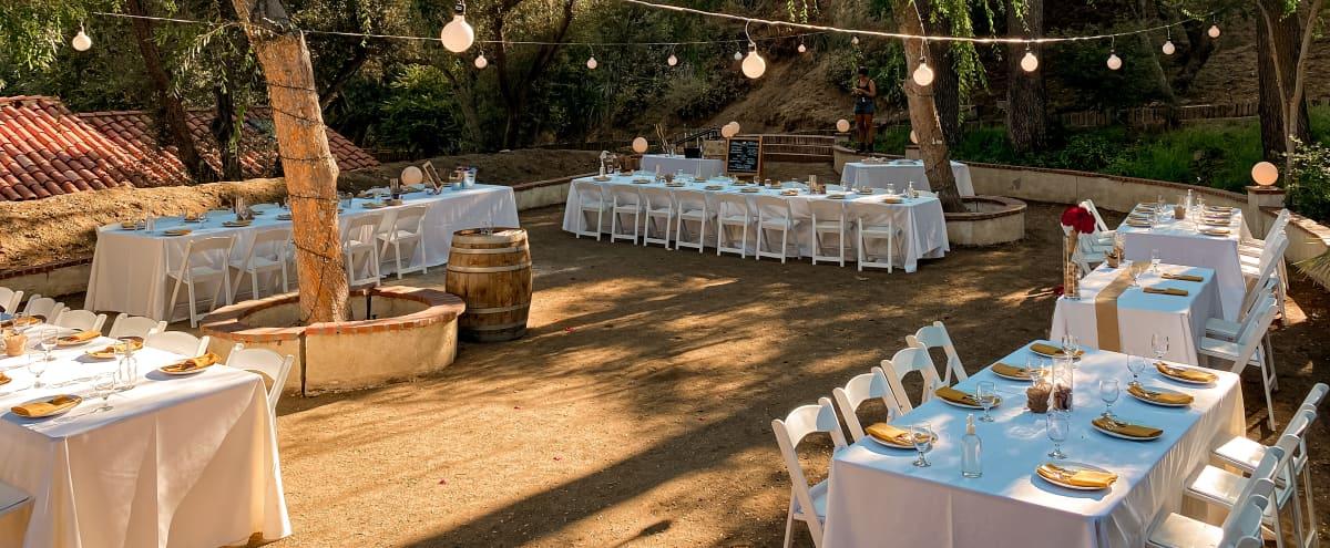 Outdoor Venue + Zenlike Tree Oasis Wedding Venue in Sun Valley Hero Image in Sun Valley, Sun Valley, CA