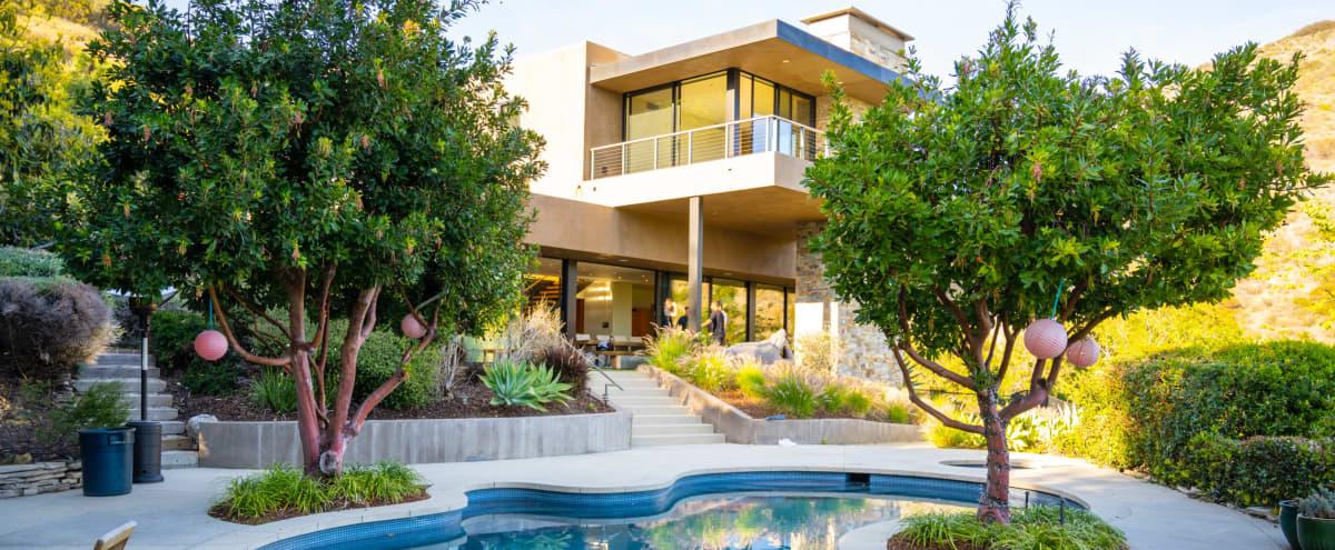 Modern Malibu Home with Stunning Ocean Views in Malibu Hero Image in Central Malibu, Malibu, CA