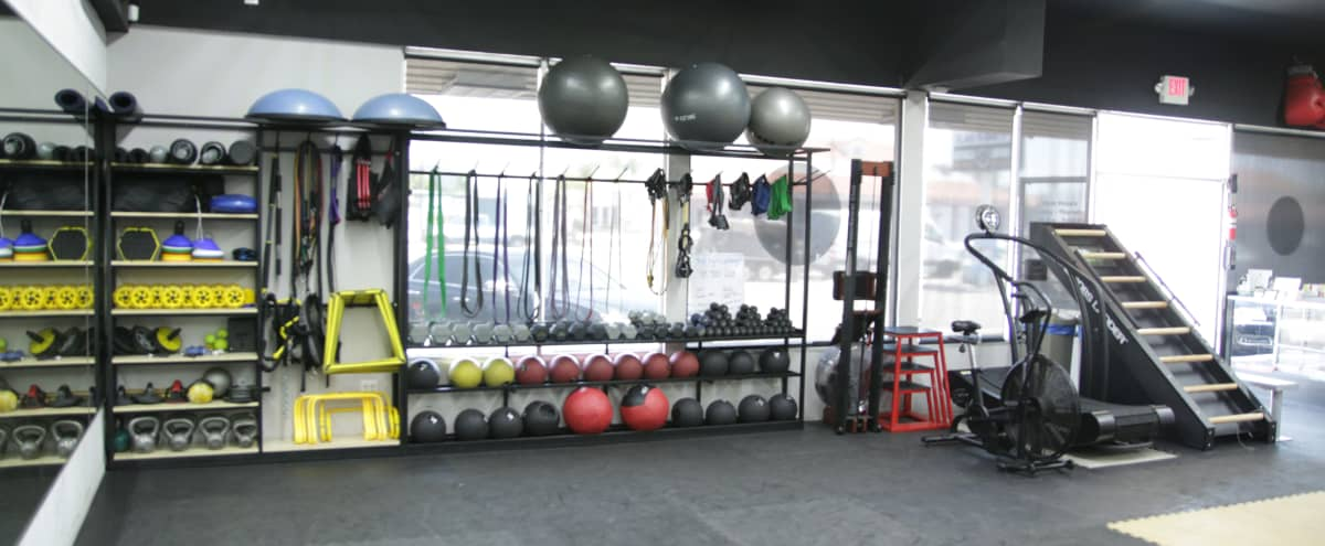 Boxing Gym with great led lighting. in EL CAJON Hero Image in undefined, EL CAJON, CA