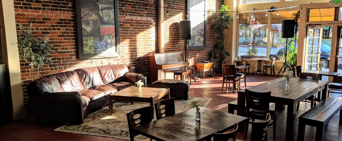 Charming brick-lined cafe & event space in historic Monrovia in Monrovia Hero Image in undefined, Monrovia, CA