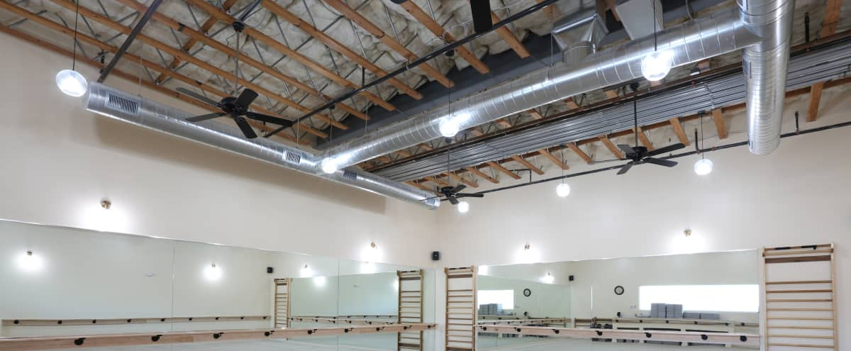 Fitness/Dance Studio with Carpet and Ballet Barres in Livermore Hero Image in undefined, Livermore, CA