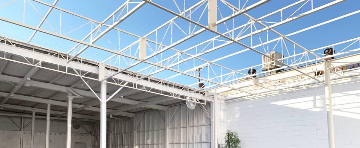 Versatile Indoor/Outdoor Veranda Space in Los Angeles Hero Image in Central LA, Los Angeles, CA