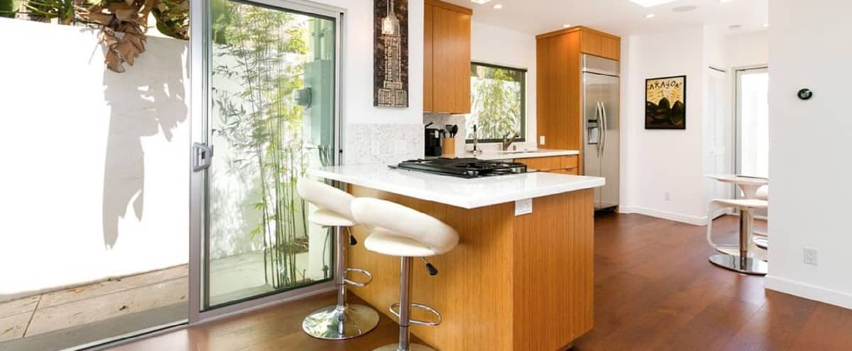 Stunningly reinvented Spanish bungalow in West Hollywood Hero Image in Central LA, West Hollywood, CA