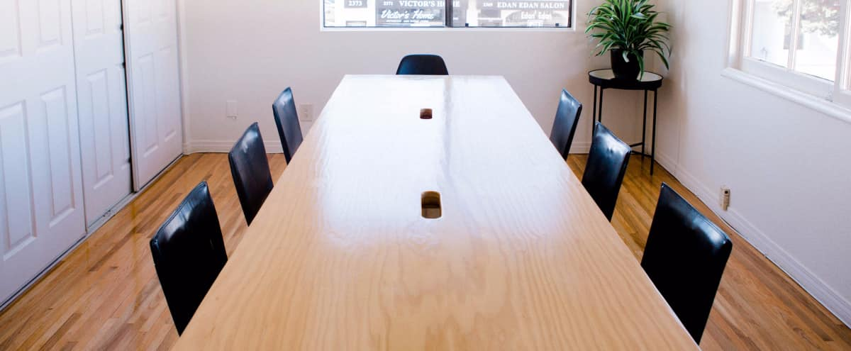 Conference Room In A Stylish U0026 Intimate Creative Office With Excellent Natural  Light In West LA