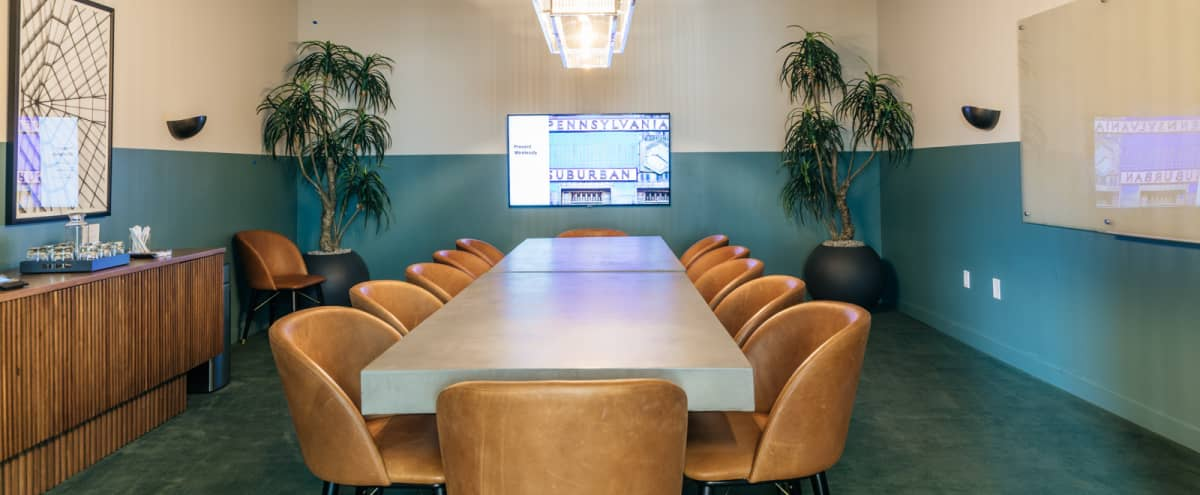Downtown 14 Person Conference Room - Rooftop - Breakout Space in Philadelphia Hero Image in Logan Square, Philadelphia, PA