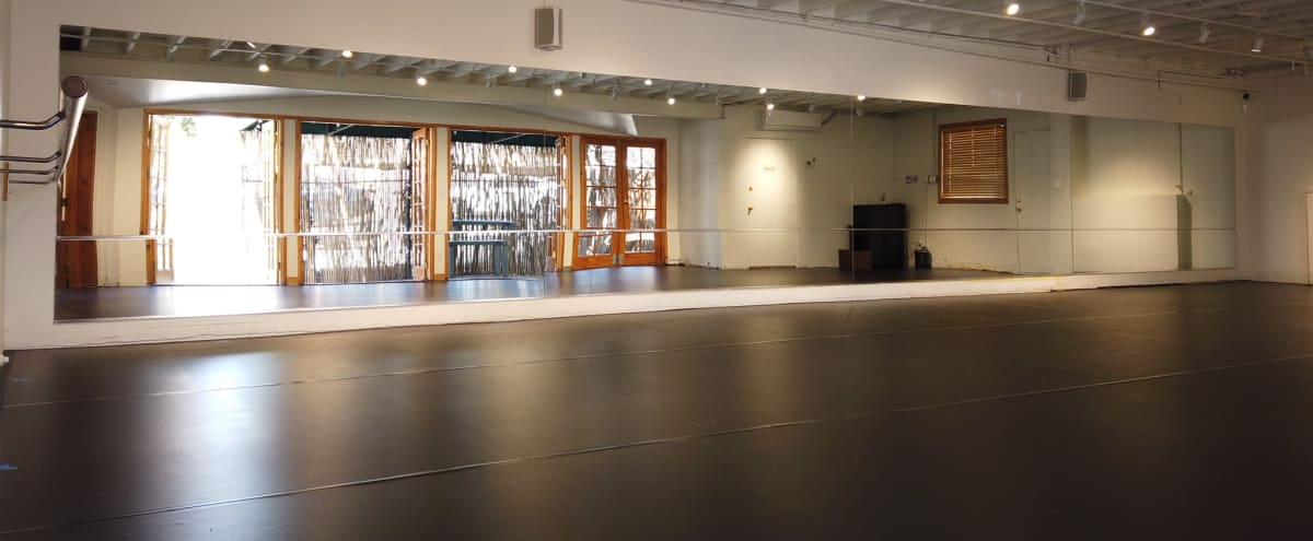 Beautiful Two Room Dance Studio/Rehearsal/Filming Space with Private Outdoor Patio in Los Angeles Hero Image in Westwood, Los Angeles, CA