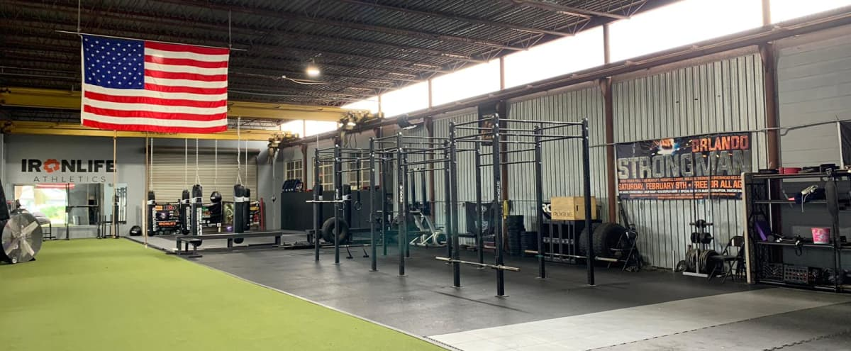 Warehouse, MMA, and Strength Gym in Downtown Orlando in orlando Hero Image in Park Lake / Highland, orlando, FL