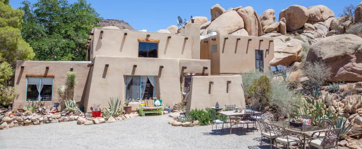 Boulder House in Pioneertown Hero Image in undefined, Pioneertown, CA