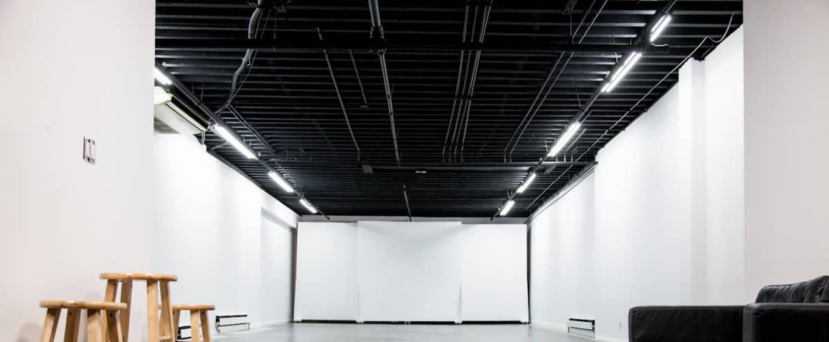 Versatile Studio With Private Patio in Brooklyn Hero Image in East Williamsburg, Brooklyn, NY