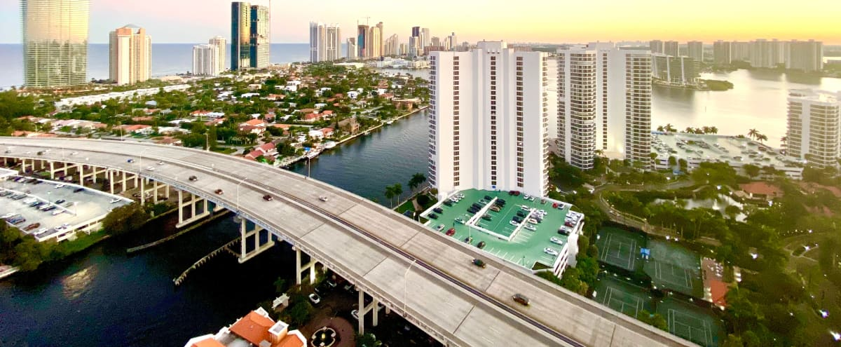 Stunning Rooftop with 180 Degree Ocean and City Views in Aventura Hero Image in undefined, Aventura, FL