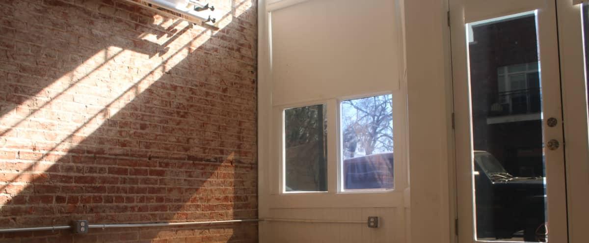 Intimate Brick Aesthetic Space in Richmond Hero Image in Church Hill, Richmond, VA