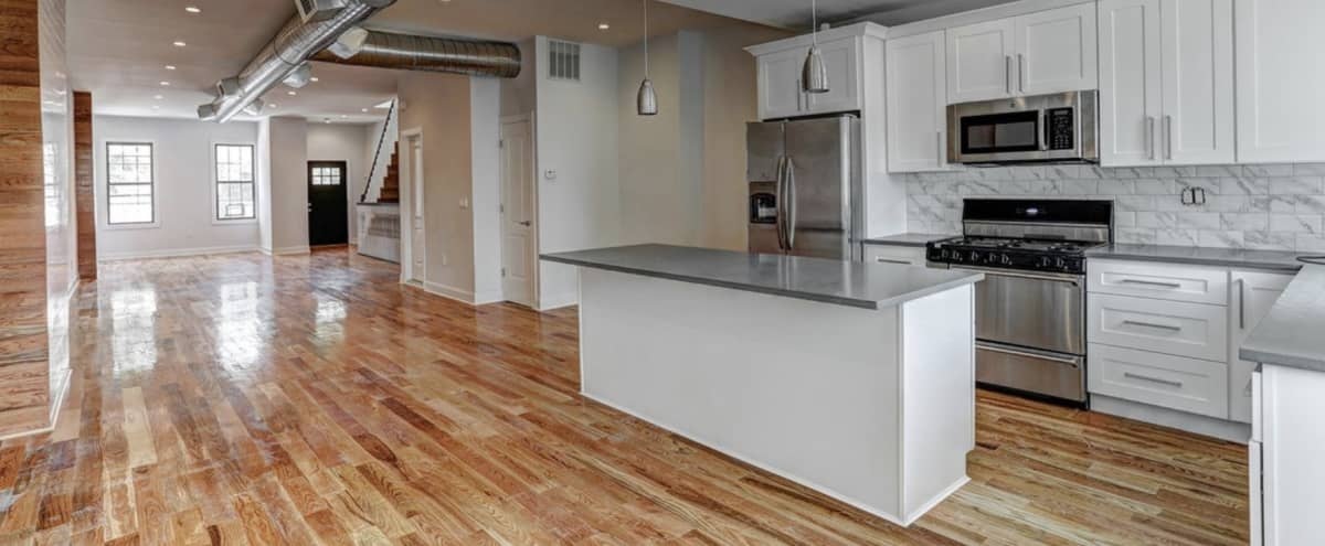 Brooklyn Townhouse with High Ceilings, Lots of Light & Many Amenities in Brooklyn Hero Image in Bushwick, Brooklyn, NY