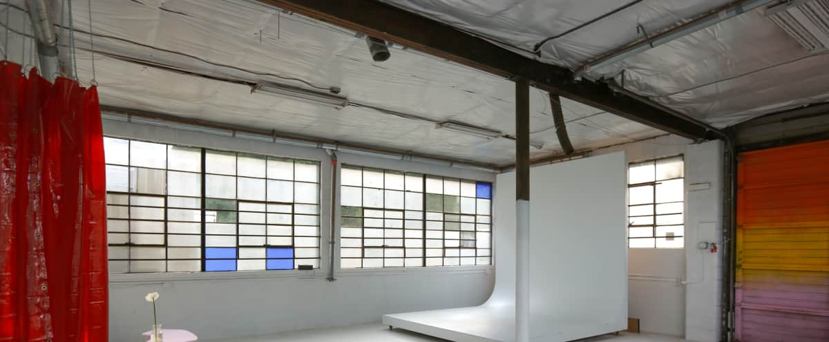 Industrial Photography Studio with Mobile Cyclorama in Portland Hero Image in North Portland, Portland, OR