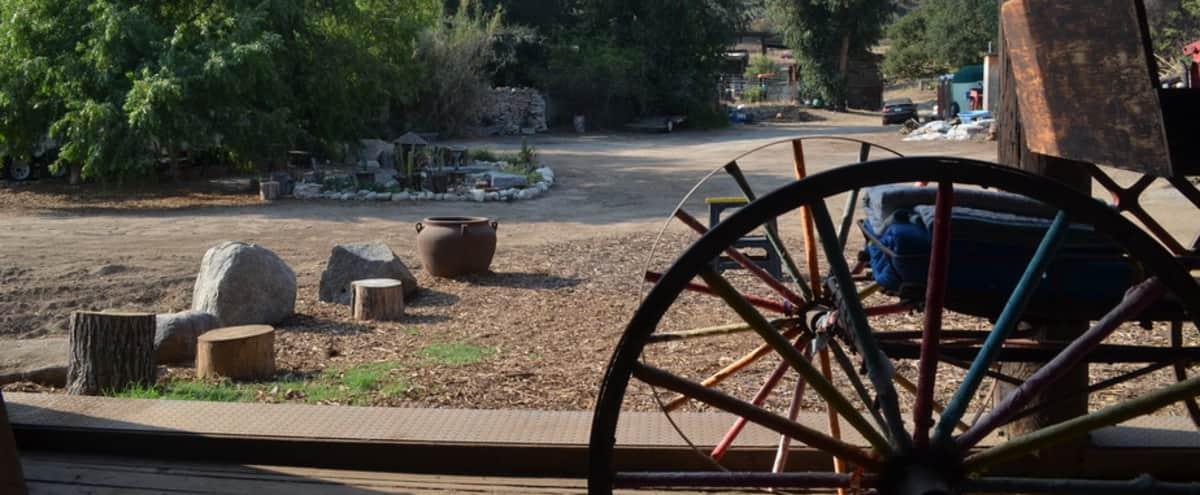 Unique LA Art Ranch with Incredible Views in Altadena Hero Image in undefined, Altadena, CA