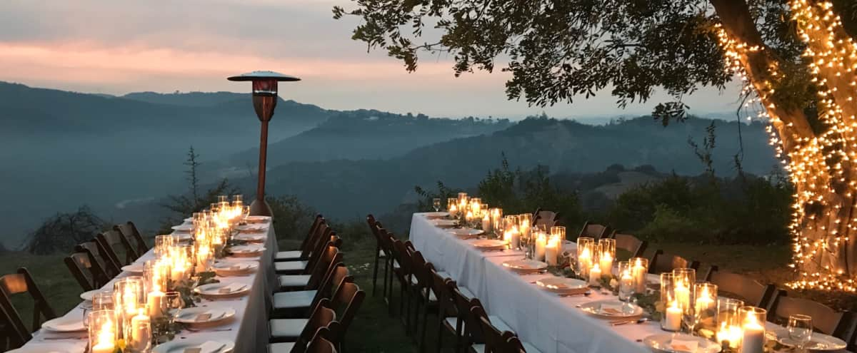 Chateau Collina Mansion with Outdoor Wedding & Event Space in Los Angeles Hero Image in Bel Air, Los Angeles, CA