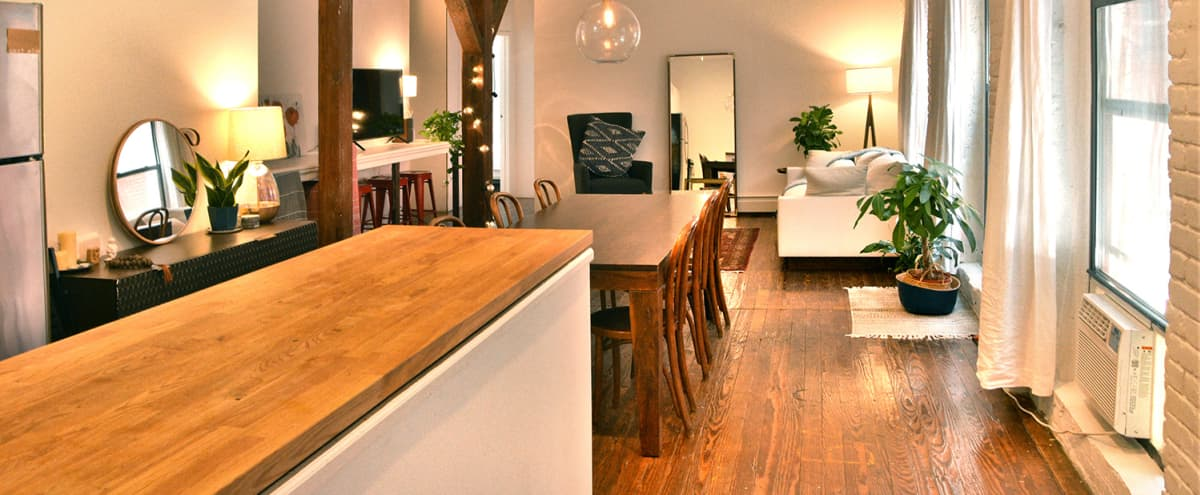 Large stylish Brooklyn Loft: Perfect for events and gatherings in brooklyn Hero Image in Red Hook, brooklyn, NY
