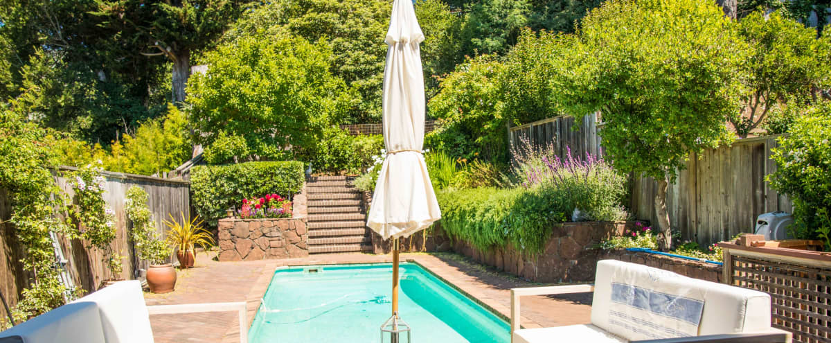 Charming Mill Valley Home with Pool in Mill Valley Hero Image in undefined, Mill Valley, CA