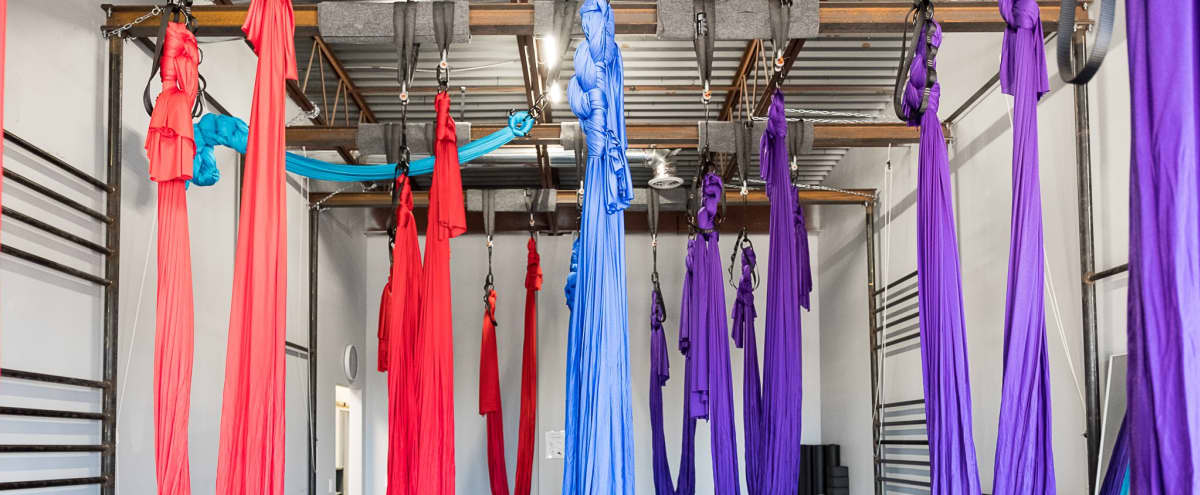 Boutique style pole and aerial fitness studio in Highland Village Hero Image in undefined, Highland Village, TX