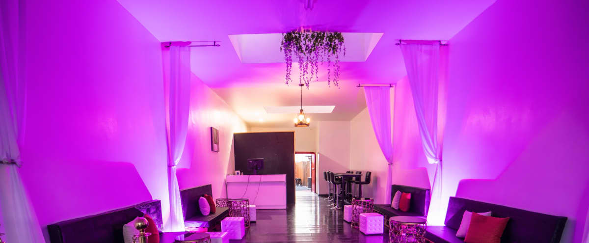 Modern Lounge with heated patio for private events in Los Angeles Hero Image in Mid City, Los Angeles, CA