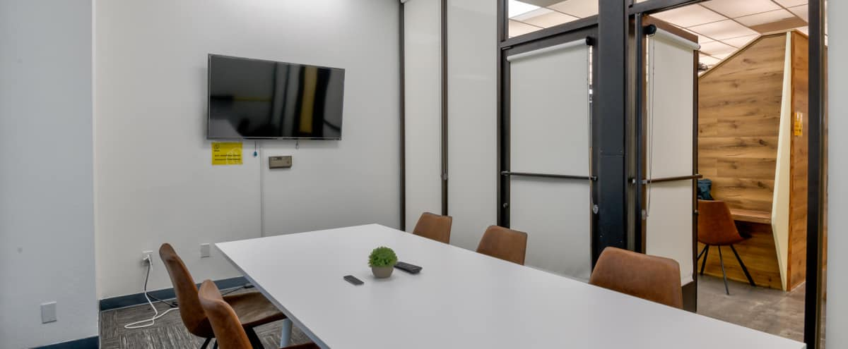 Modern Private Conference Room - Piece (6 Persons) in San Francisco Hero Image in South of Market, San Francisco, CA