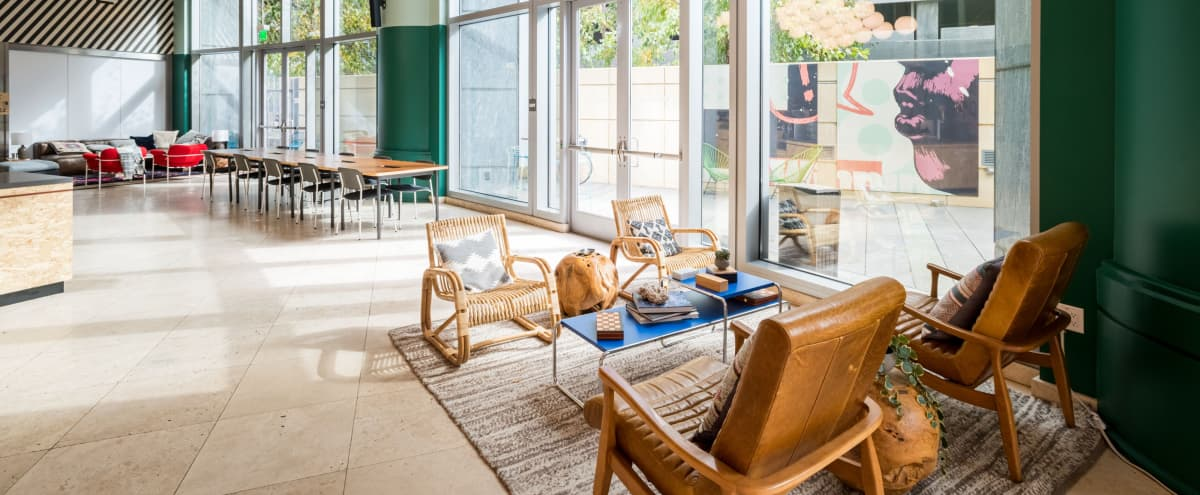 Private, charming patio tucked in the heart of Century City in Los Angeles Hero Image in Century City, Los Angeles, CA