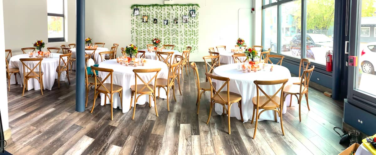 Bright modern and industrial event space with a touch of rustic charm in Lemont Hero Image in undefined, Lemont, IL