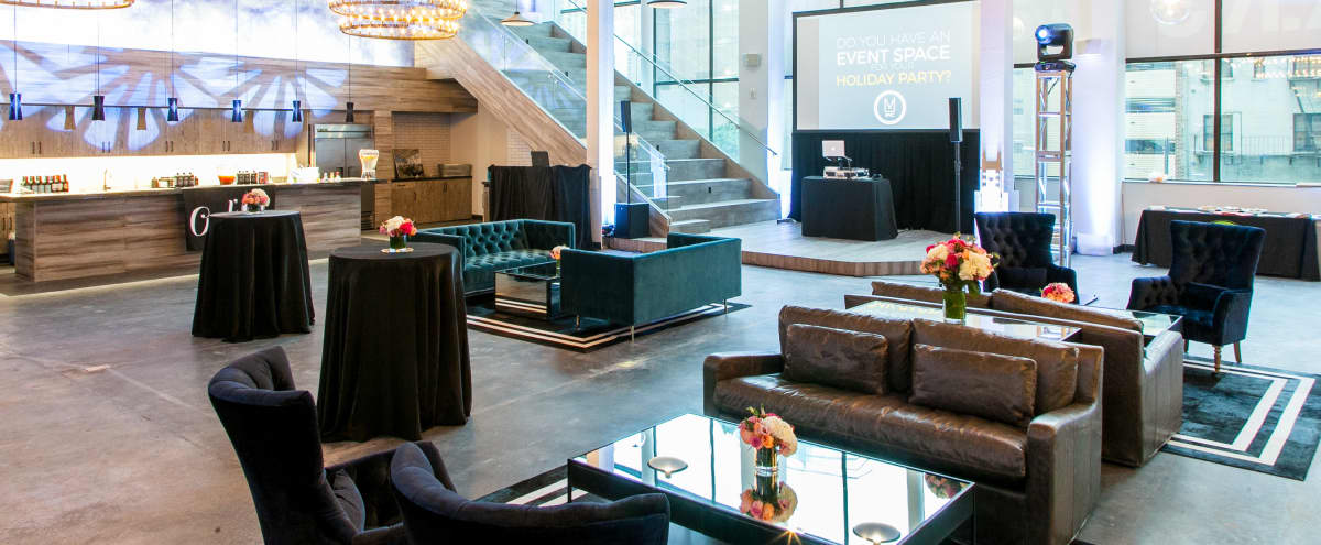 Spacious industrial-chic event space, located in the heart of the Financial District in New York Hero Image in Lower Manhattan, New York, NY