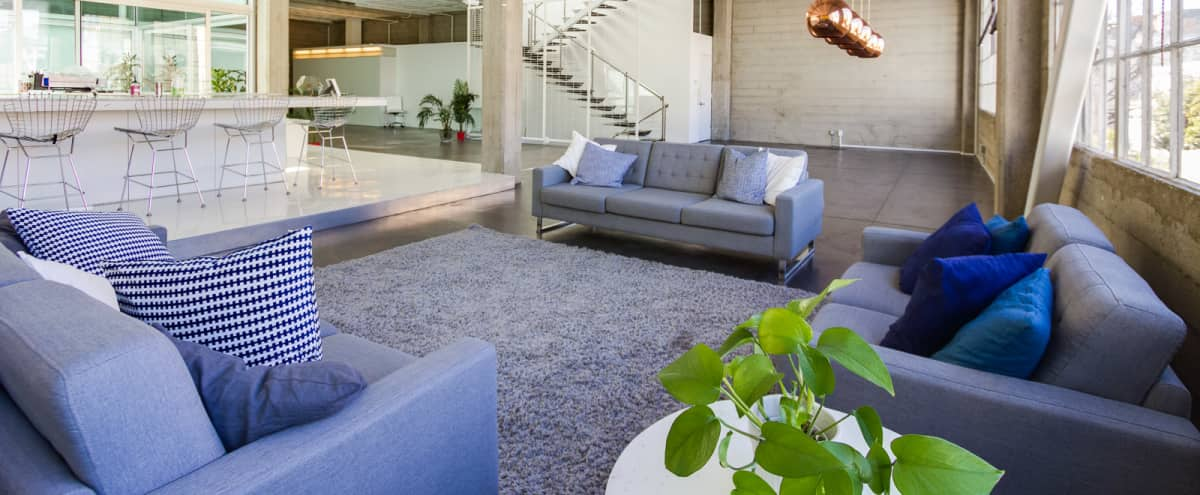 Sunny Second Level Warehouse:Loft w/Atrium! in San Francisco Hero Image in South of Market, San Francisco, CA