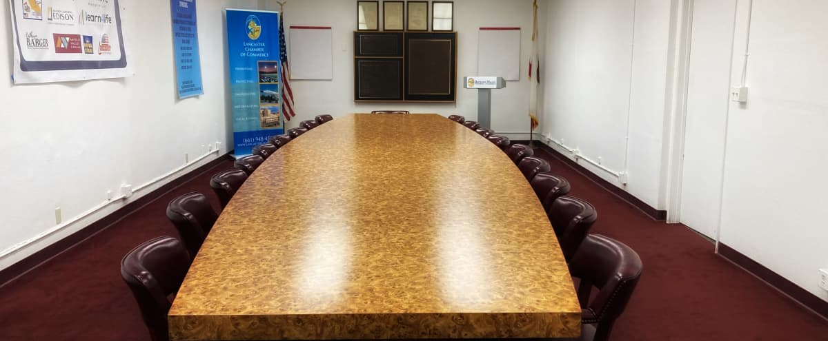 Professional Downtown Lancaster Conference/Board Room in Lancaster Hero Image in undefined, Lancaster, CA