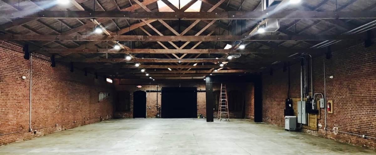 SPACIOUS DOWNTOWN INDUSTRIAL RUSTIC WAREHOUSE: NEWLY RENOVATED in Downtown, Los Angeles Hero Image in Central LA, Downtown, Los Angeles, CA