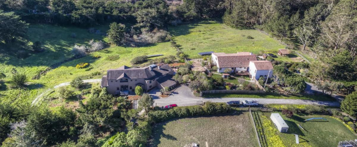 Host Included - Inspirational Vista and Ocean View Estate - in Montara Hero Image in undefined, Montara, CA