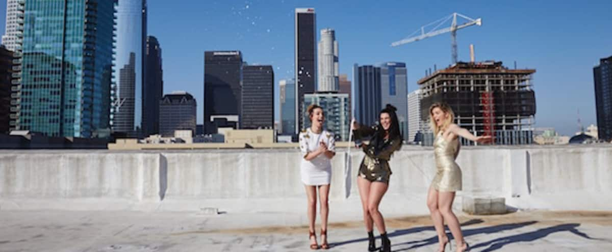 12,000 sq ft Downtown Rooftop (Hope/Flower) with 360 Views in Los Angeles Hero Image in Central LA, Los Angeles, CA