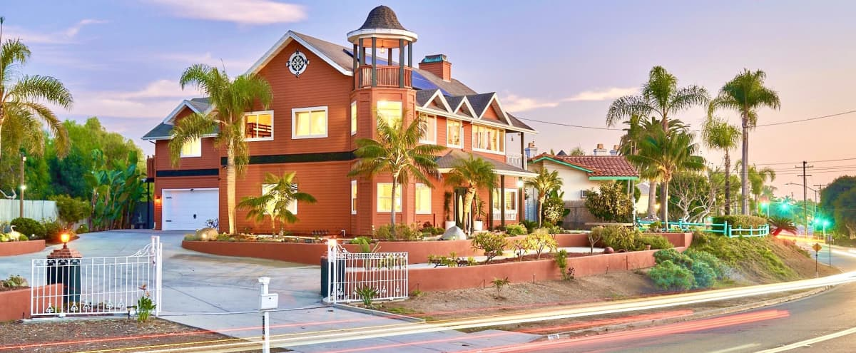 One-of-a-Kind Gorgeous Huge Waterfront House in Carlsbad Hero Image in Carlsbad Village, Carlsbad, CA