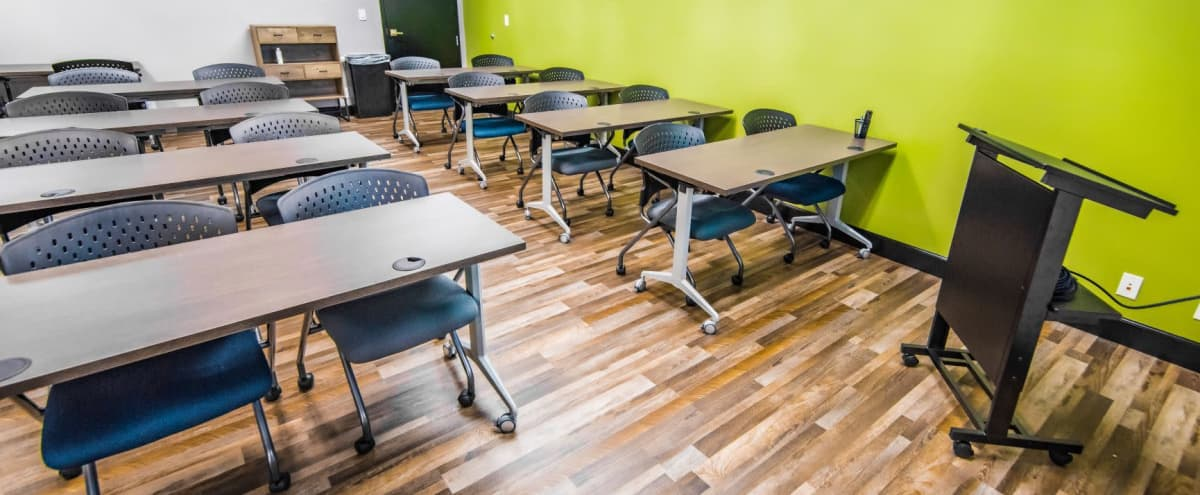 Modern Meeting Space centrally located in West Palm Beach in West Palm Beach Hero Image in Villages of Palm Beach Lakes, West Palm Beach, FL