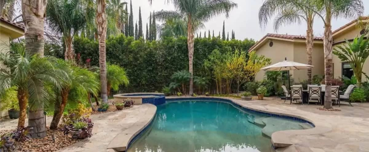 Indoor/Outdoor Event Space for Wellness Retreats, Photo and VideoShoots in Los Angeles Hero Image in Tarzana, Los Angeles, CA