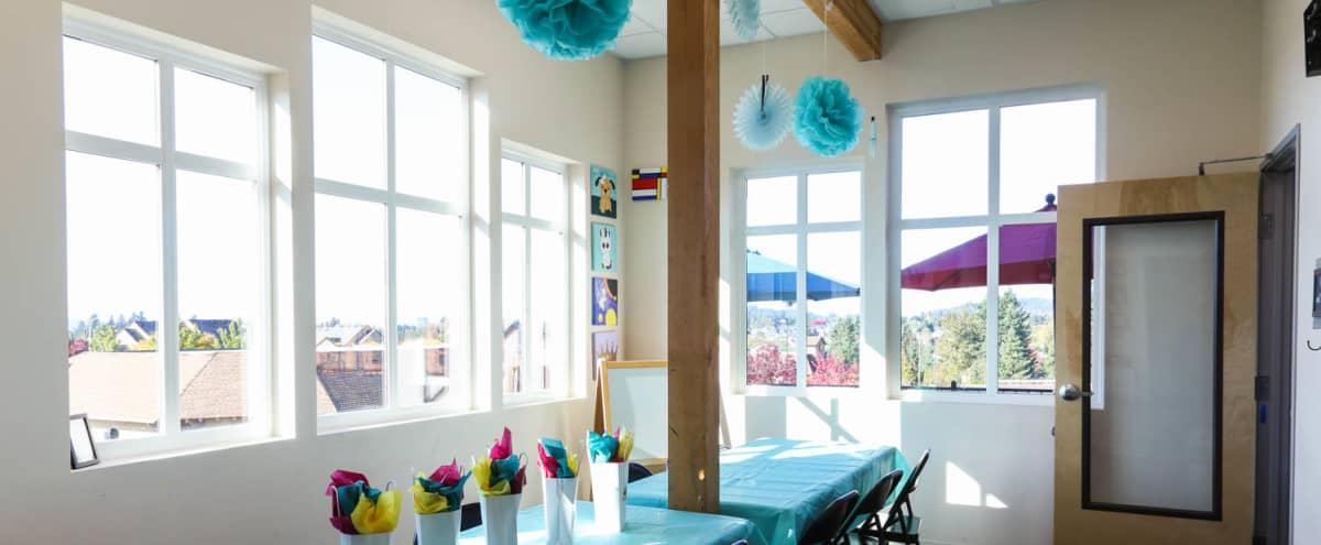 Bright & Joyful - Private Party Room in Happy Valley - OR in Happy Valley Hero Image in Rock Creek, Happy Valley, OR