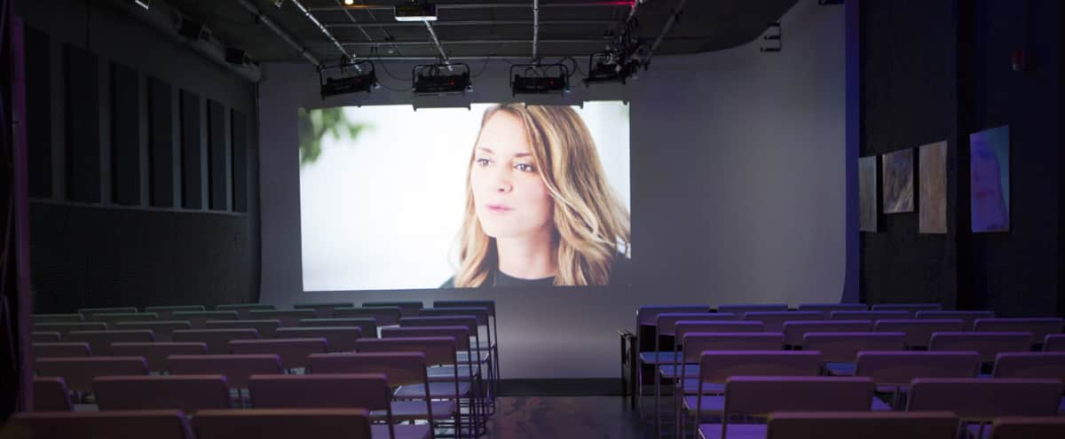 Spacious Cyclorama Studio with Lounge - for Screenings, Live Performances & Receptions in Brooklyn Hero Image in Vinegar Hill, Brooklyn, NY