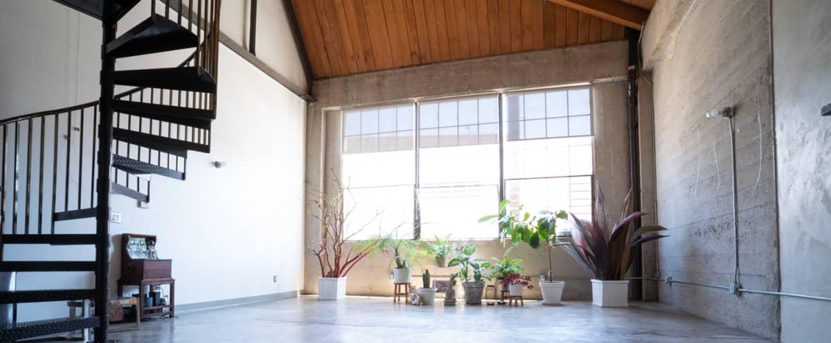 Artist Loft, Gallery, Creative and Holistic Healing Space, Painting Studio in Los Angeles Hero Image in Central LA, Los Angeles, CA