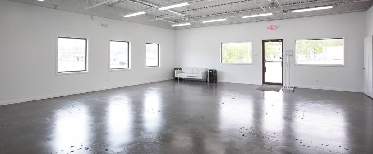 Modern Industrial Photo Studio in Downtown Blue Springs in Blue Springs Hero Image in undefined, Blue Springs, MO