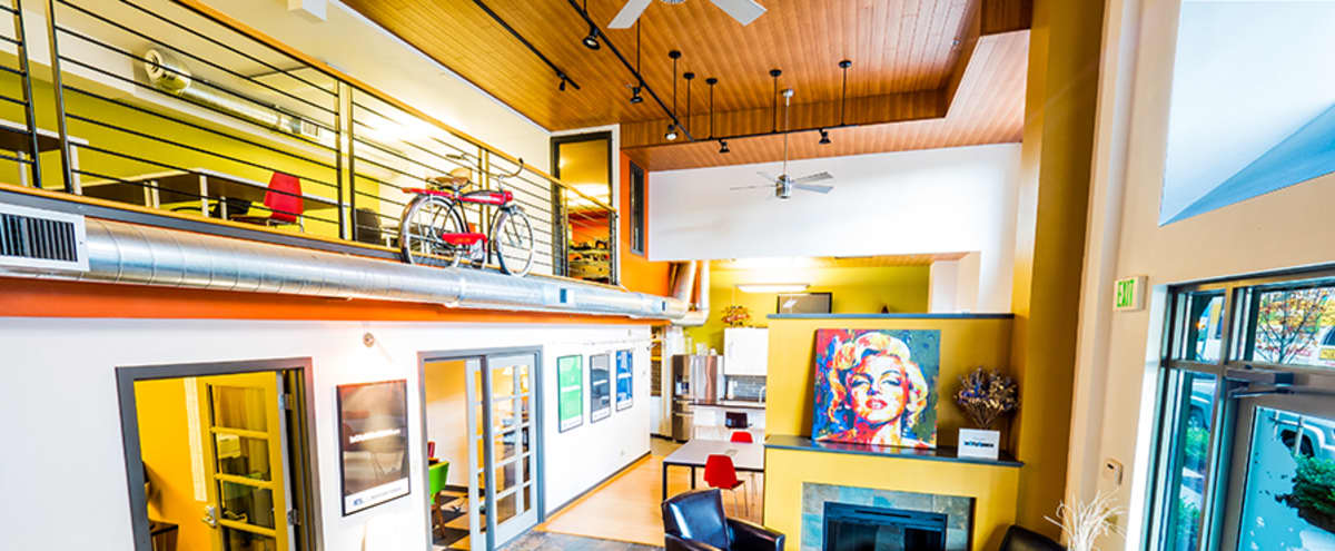 Uptown Loft Event Space With Full Kitchen in Seattle Hero Image in Ballard, Seattle, WA