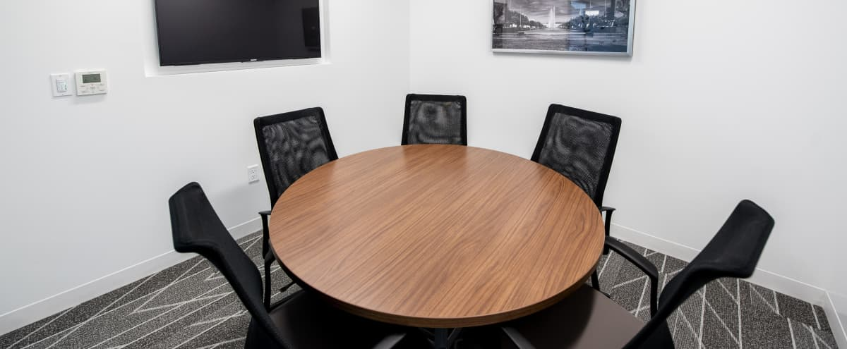 Equipped Meeting Room for 5 in Dallas Hero Image in Far North Dallas, Dallas, TX